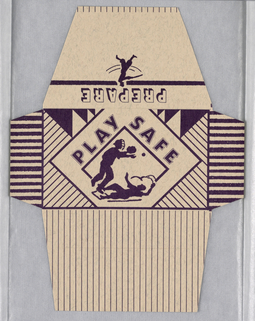 Condom Package (USA), 1990