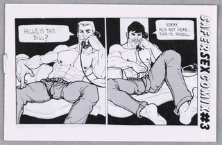 Comic Book, Safer Sex Comix #3, 1986