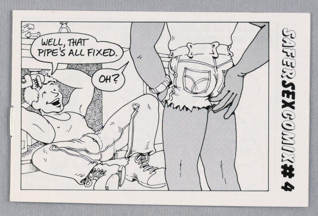 Comic Book, Safer Sex Comix #4, 1986