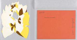 Card, Butterfly, 1983