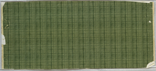 Horizontal rectangle, printed in shades of green, with simulation of lawn.