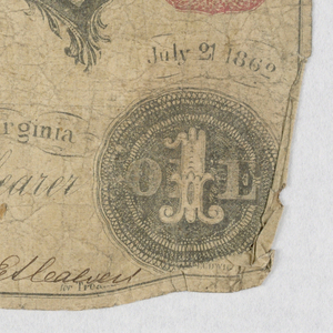 Bank Note, 1830–60s