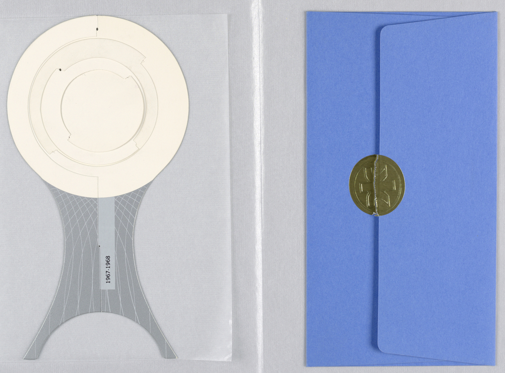 Card, Variations on Architectural Themes 2, 1967
