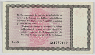 Banknote (Germany), 1934