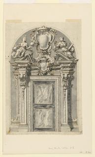 Drawing, Doorway, ca. 1765
