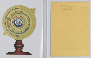 Card, SmithsonianArmillary Sphere, 1973
