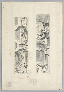 Two vertical panels shows alternative designs.