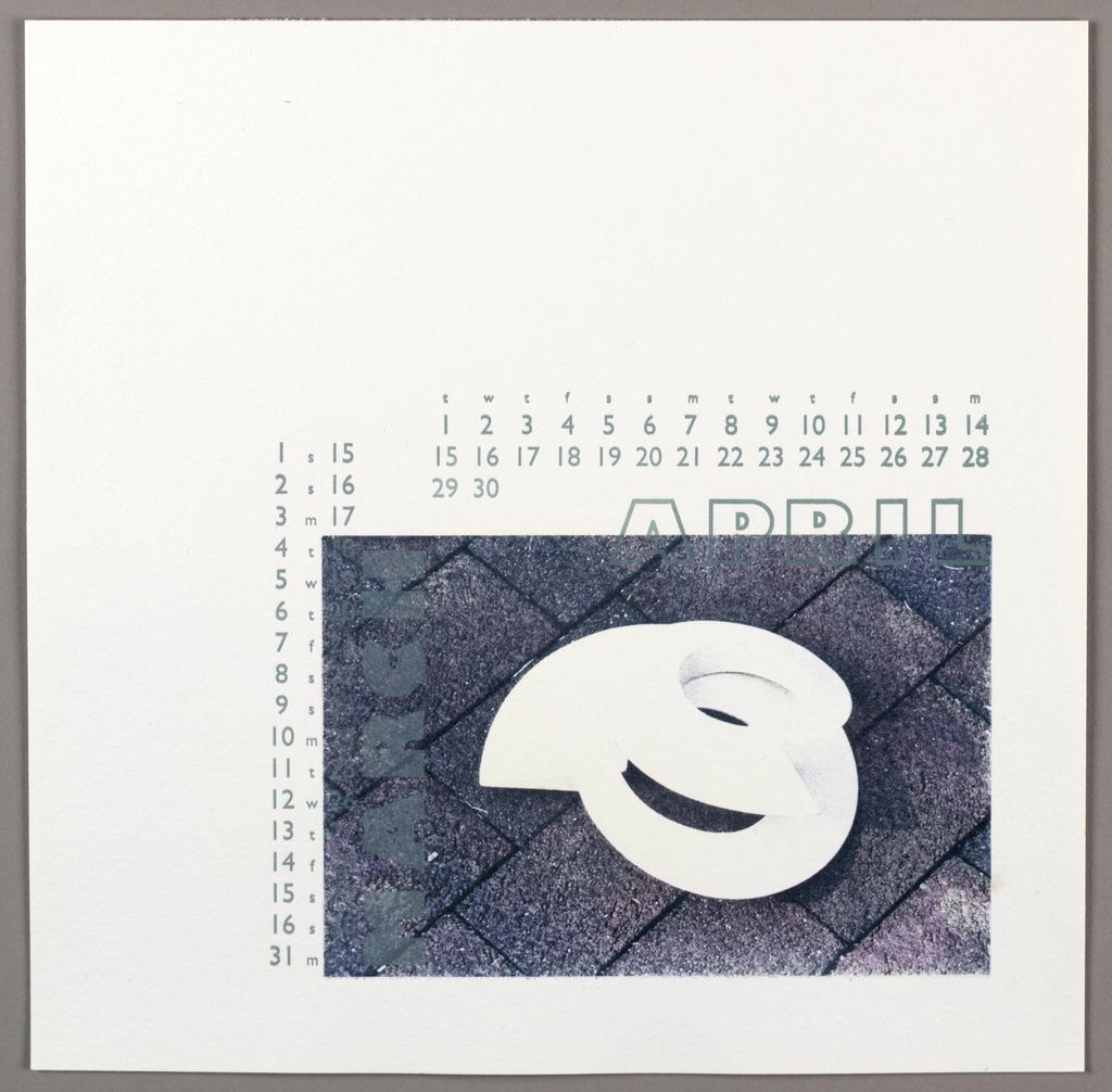 Calendar, Roni Gross Calendar for Schell