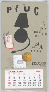 Calendar, Plug, 1994