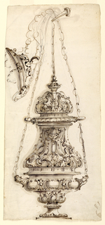 Drawing, Censer, 1730–60