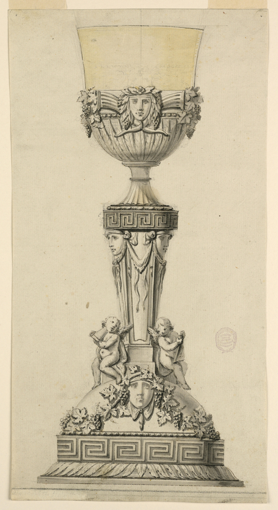 Drawing, Design for a Chalice