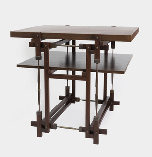 Tension Rod Table