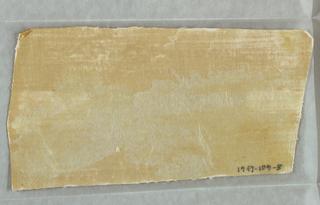 Sidewall - Fragment (possibly USA)