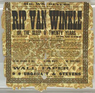 Sidewall, Rip Van Winkle