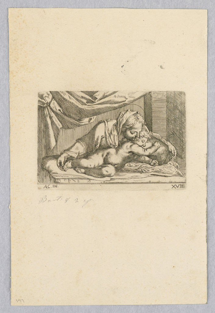 Print, Madonna and Child