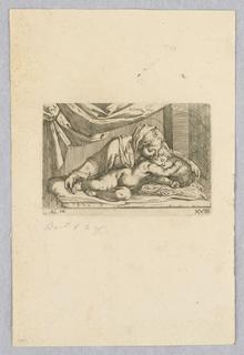 Print, Madonna and Child