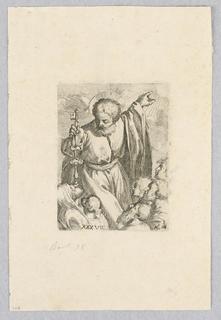 Print, Saint Peter