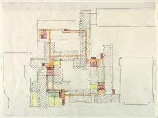 Plan over column bays