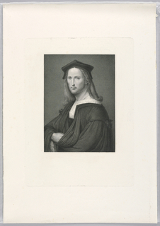 Print, Portrait of Raphael