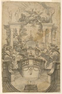 Drawing, Macchina delle 40 ore, 1685–1700
