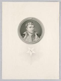 Print, Napoleon, 1812