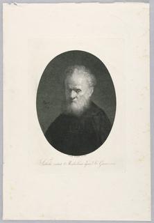 Print, Portrait