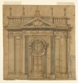 Drawing, Santa Brigida degli Svede