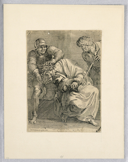 Print, Scourging of Christ, 1606