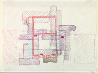 Plan of fourth floor