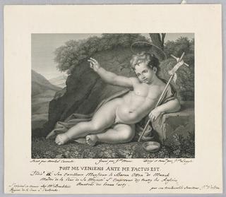 Print, Infant John the Baptist