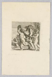 Print, Five Putti