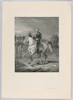 Print, Man on a Horse