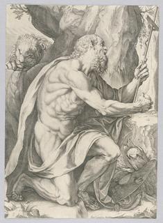 Print, Saint Jerome
