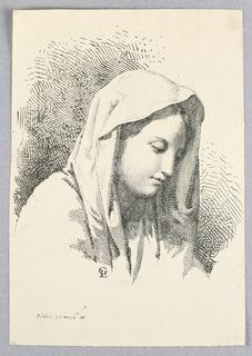 Print, Madonna