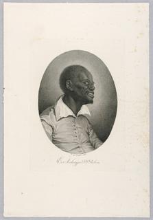 Print, Black Man