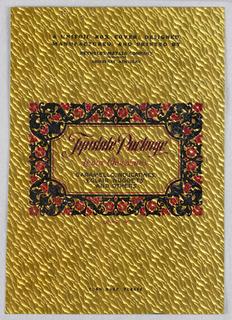 Decorated Paper (USA), ca. 1928–29