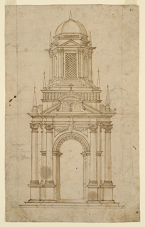 Drawing, Design for a Tabernacle