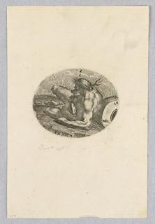 Print, River-god