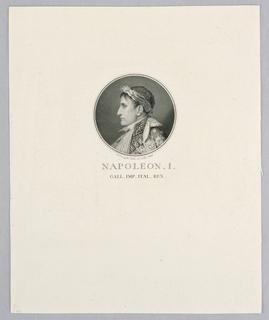 Print, Napoleon, 1806