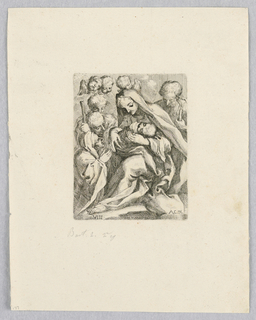 Print, Adoration of Shepard