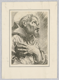 Print, St. Francis of Assisi