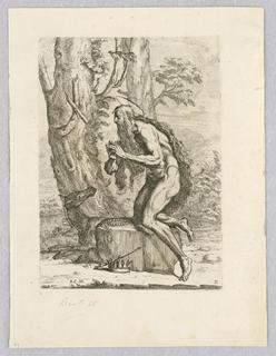 Print, St. Jerome