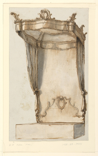 Drawing, Project: A Bed with a Canopy