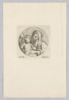 Print, Holy Family