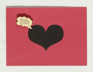 Holiday Card, Untitled, 1994