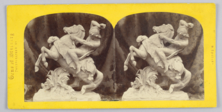 Stereograph Slides, Sculpture in the London Exhibition of 1862