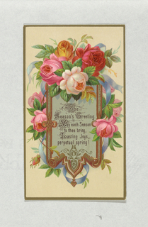 Greeting Card, ca. 1880