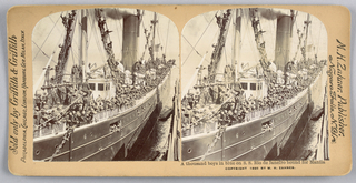 Stereoscope Slides, Scenes during the Spanish American War