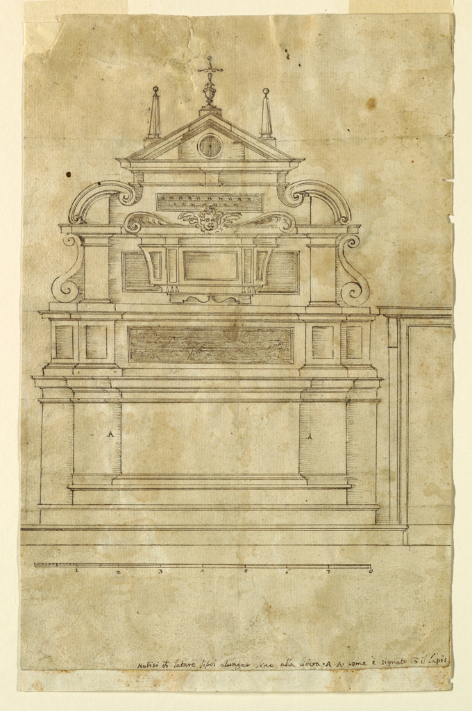 Drawing, Project for an Altar