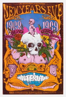 Poster, New Year's Eve 1968-1969